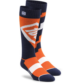 100% Torque Comfort Moto Socks orange